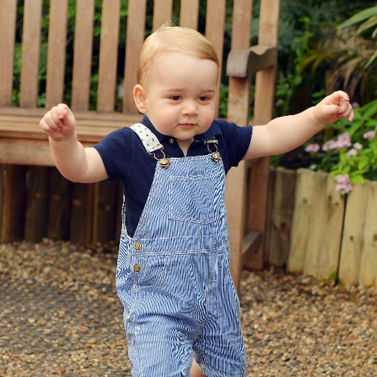 Pictures of Prince George's First Year