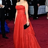 Natalie Portman at the 2012 Academy Awards