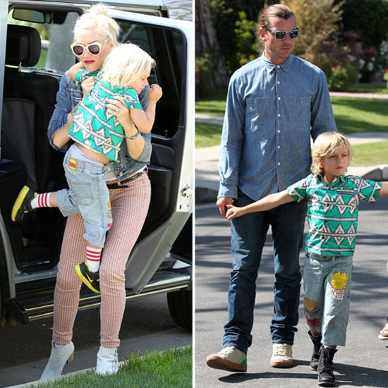 Gwen Stefani Celebrates Mother's Day With Gavin and Their Matching Boys