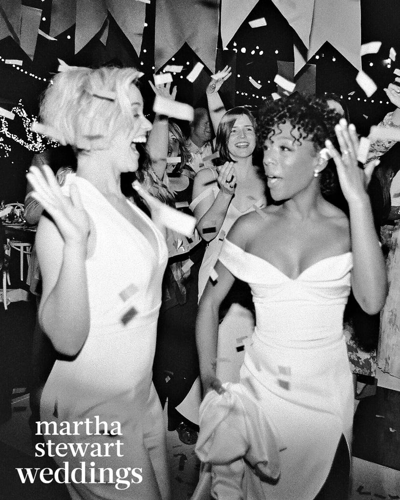 "Samira Wiley and Lauren Morelli exchanged ""I dos"" in Palm Springs in March, and their nuptials were as stunning as you'd expect. The couple, who met on the set of Orange Is the New Black, both opted for stunning white outfits designed by Christian Siriano for the ceremony and later slipped into something a little more comfortable for the reception. The celebration began with an outdoor ceremony set to the tune of ""This Is How We Do It"" by Montell Jordan and was officiated by Samira's parents. It then continued with the newlyweds making a grand entrance at their reception with Justin Bieber's ""Baby"" playing in the background. The guests, which included fellow OITNB costar Danielle Brooks, who sang Sara Bareilles's ""I Choose You,"" also munched on confetti wedding cake.      Related:                                                                                                           How Samira Wiley and Lauren Morelli Took Their Romance From the Slammer to the Aisle               Samira and Lauren first began dating in 2014 and got engaged back in October. In the February issue of Out magazine, Lauren revealed that she wanted to pop the question before one of their getaways so that they could use that time away to celebrate together. Check out their full wedding spread in Martha Stewart Weddings now.          View this post on Instagram            A post shared by Brad Walsh (@bradwalsh) on Mar 27, 2017 at 1:50pm PDT"