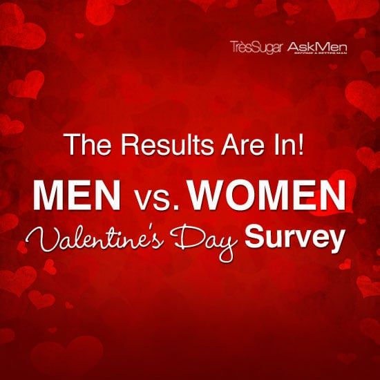 What Men and Women Want For Valentine's Day