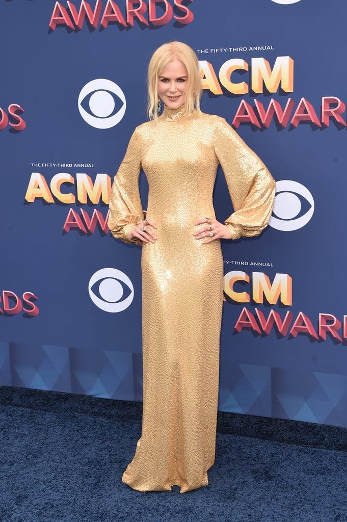 Nicole Kidman Michael Kors Dress at ACM Awards 2018