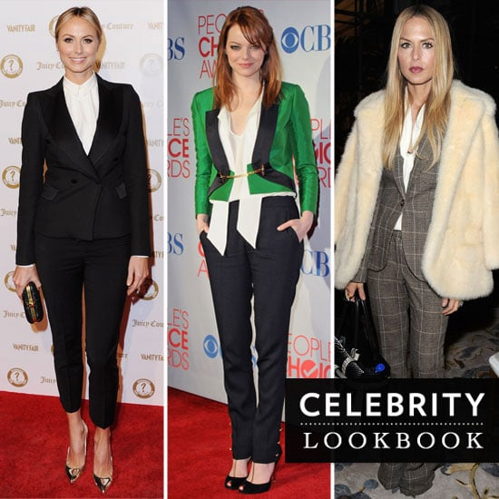 Celebs Shake Things Up in Menswear-Inspired Outfits