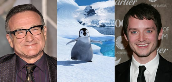 Robin Williams and Elijah Wood in Negotiations to Voice Characters in Happy Feet 2