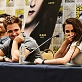 The cast of the Twilight Saga gathered at Comic Con on July 12.