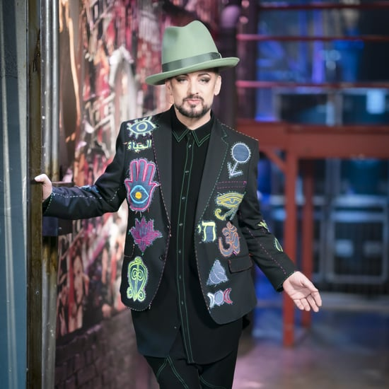 The Voice's Boy George Explains Hanging Up on Radio Host