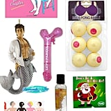 If you're gathering with your closest girlfriends for a white elephant party, take it as an opportunity to bring out the laughs with x-rated gifts that'll make 'em feel like they just stepped into a bachelorette party. From the cheesy to the creepy and everything in between, POPSUGAR Love & Sex has finds that promise a good time!