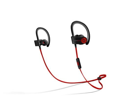 """The headphones: Powerbeats2 Wireless Earphones ($200) The why: """"The sound is incredible and they stay on your ear with the little wraparound feature. They're also a good color, wireless, and held up during my half marathon, and the sweat and moisture didn't screw them up."""" — Dominique Astorino, assistant editor, Fitness"""