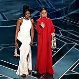 Tiffany Haddish Alexander McQueen Dress Oscars 2018
