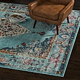 Rivet Distressed Color Medallion Rug
