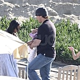 Pictures of Matt Damon in Malibu With Stepdaughter Alexia