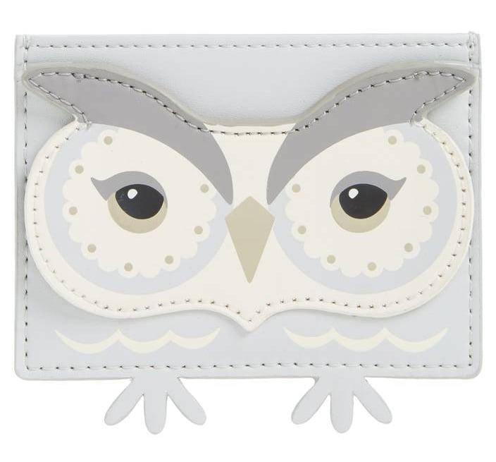Kate spade starbright owl business card holder gifts for working kate spade starbright owl business card holder colourmoves