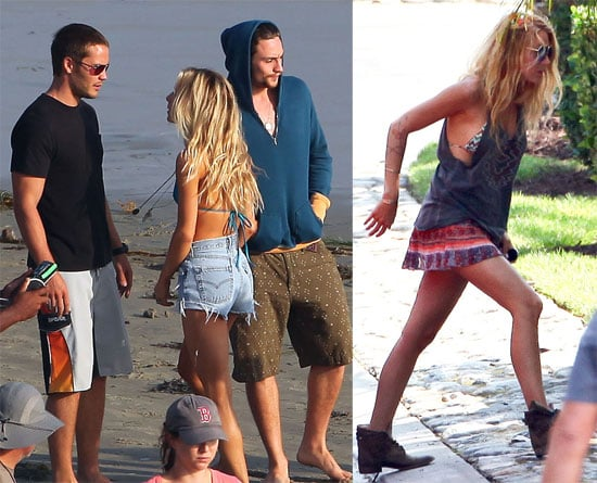 Beach Boys Taylor Kitsch and Aaron Johnson Join Best-Dressed Blake Lively on Set