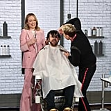Olivia Wilde Cut Jason Sudeikis's Hair on The Ellen Show
