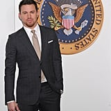 Channing Talks Fatherhood With Letterman and Brings His White House Flick to the Big Apple