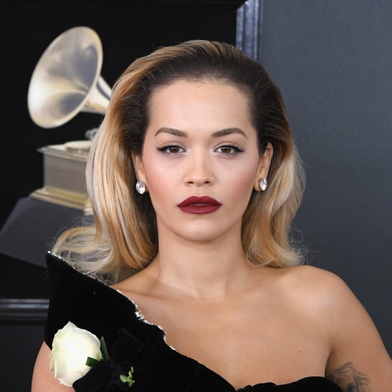 Rita Ora Hair and Makeup Grammys 2018