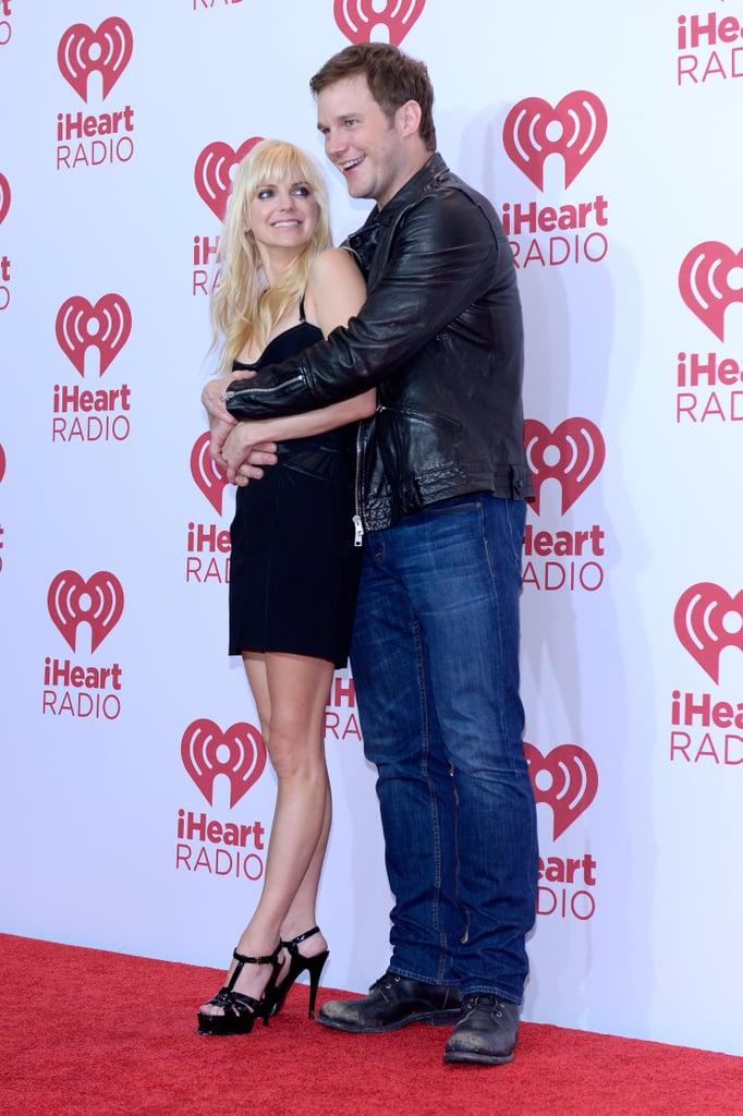 Anna Faris And Chris Pratt 2014