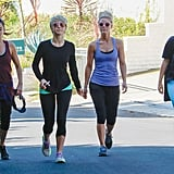 Nikki Reed, Julianne Hough, and Cara Santana went on a hike together in LA on Tuesday.
