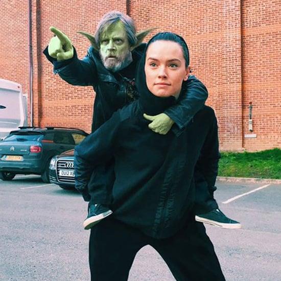 Photoshopped Mark Hamill With Daisy Ridley