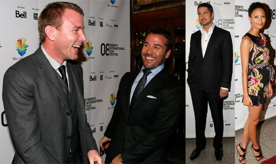 Photos of RocknRolla Premiere at Toronto Film Festival, Interview with Jeremy Piven