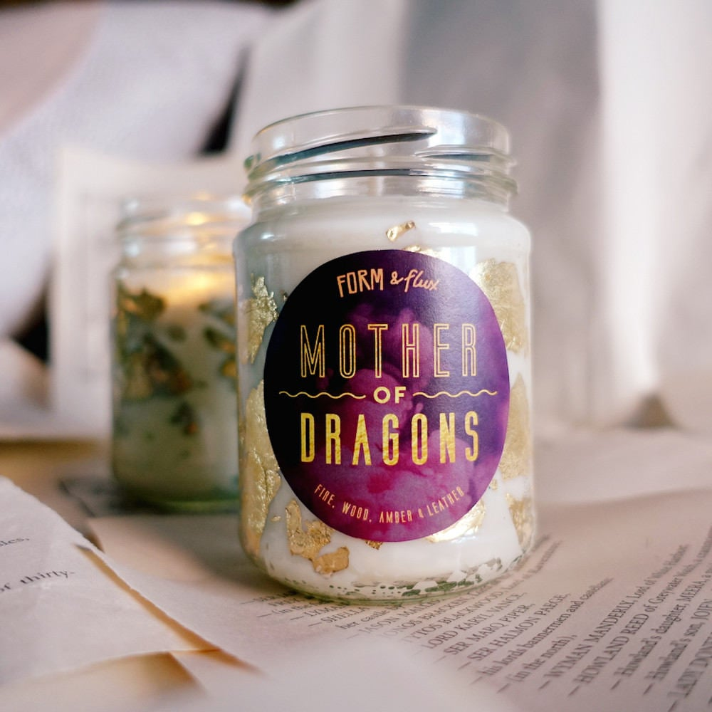 Game of Thrones Khaleesi Candle