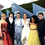 Stranger Things Cast at the 2020 SAG Awards