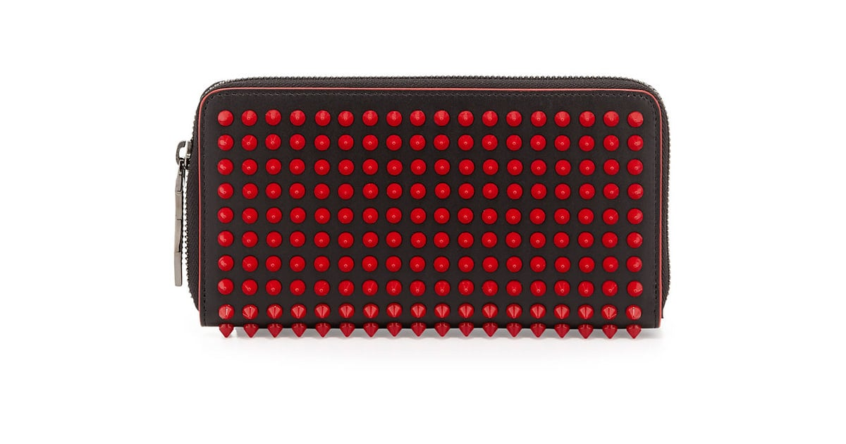 97b64b6ee77 Christian Louboutin Panettone Spike Stud Continental Wallet ...