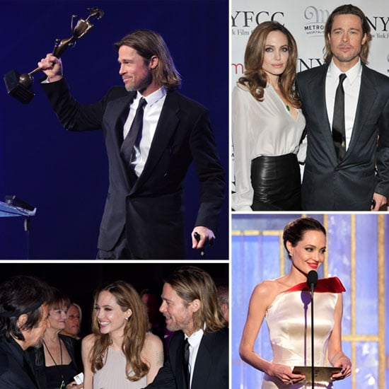 Brad Pitt and Angelina Jolie 2012 Awards Season Pictures