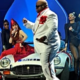 Cee Lo Green Closes the Show