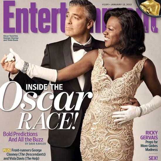 George Clooney and Viola Davis Talk Marriage, Movies and Oscars in Entertainment Weekly