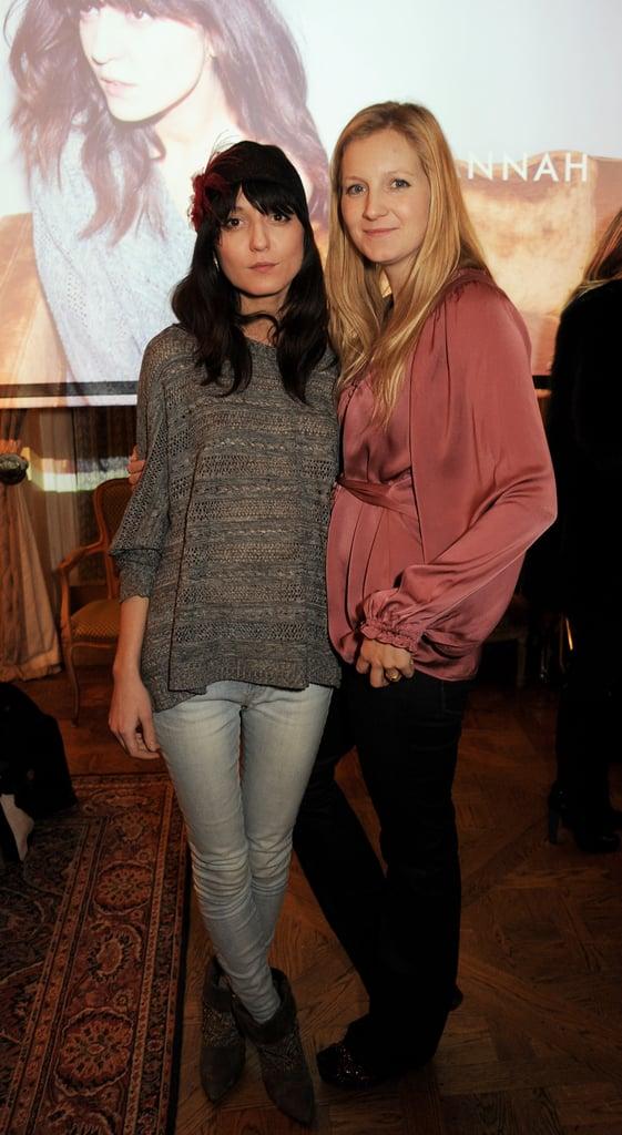 Irina Lazareanu and Savannah Miller