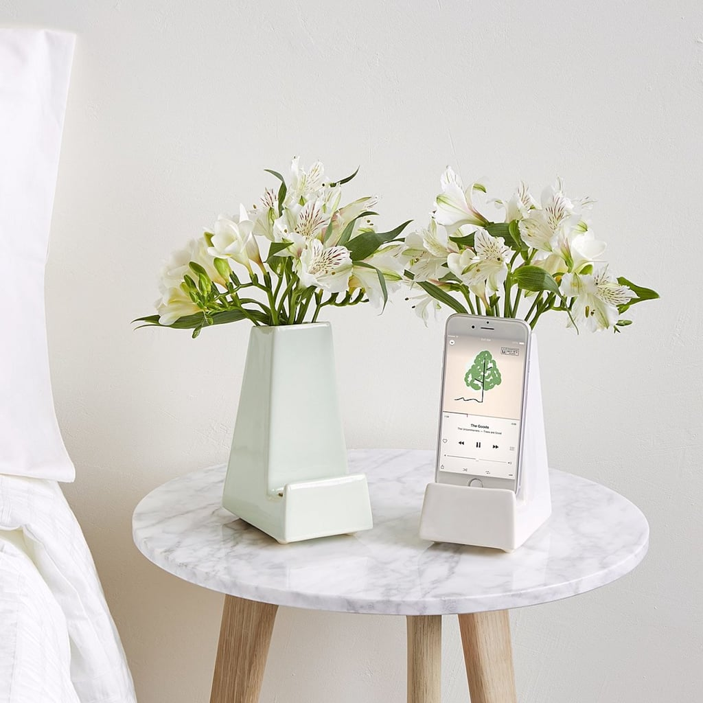 Bedside Smartphone Vase From Uncommon Goods