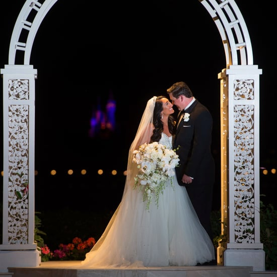 Beauty and the Beast Wedding at Disney World