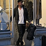 Robert Pattinson did some shopping in NYC.