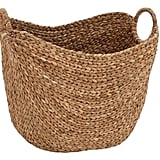 Dot & Bo Textural Dream Seagrass Basket With Handles ($58)