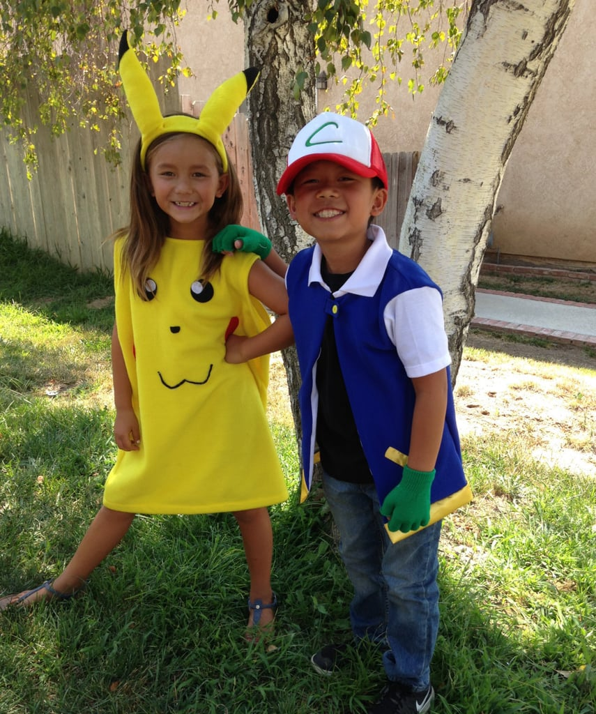 Pokémon Ash and Pikachu