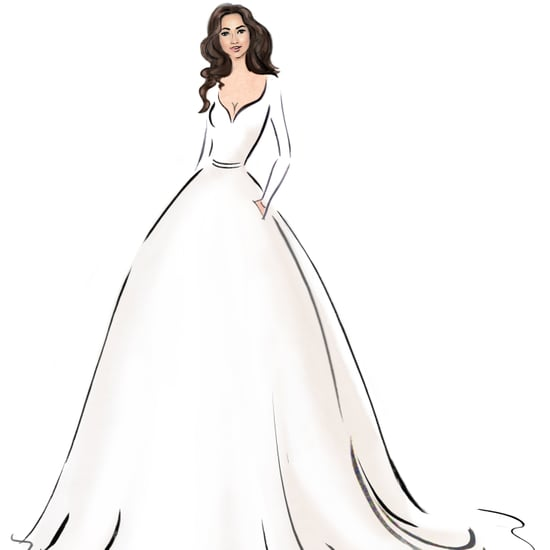 Meghan Markle's Wedding Dress Sketches