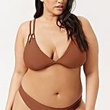 Forever 21 Strappy Bikini Top and High-Cut Bikini Bottoms