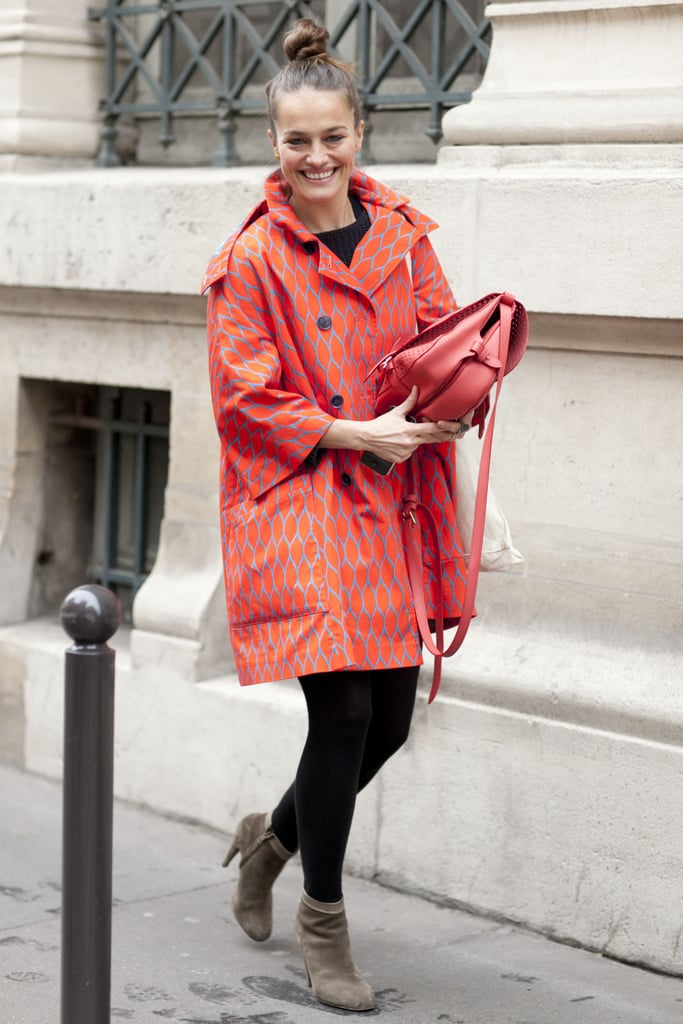 We can't get enough of this statement coat.