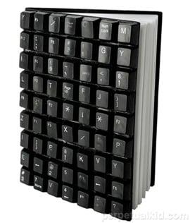 Recycled Keyboard Journal: Totally Geeky or Geek Chic?