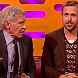 Harrison Ford Really Can't Remember Ryan Gosling's Name