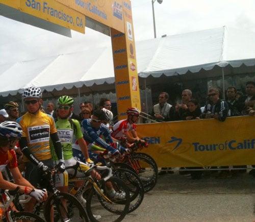 Amgen Tour of California Stage Three Start in San Francisco