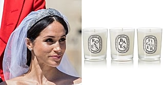 Meghan Markle Burned Your Old Roommate's Guilty-Pleasure Candle Before Her Wedding