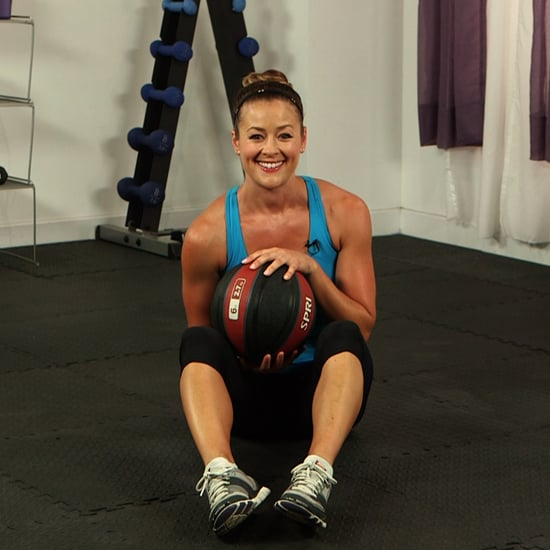 Stability Ball Russian Twist: How To Do A Seated Russian Twist With A Medicine Ball