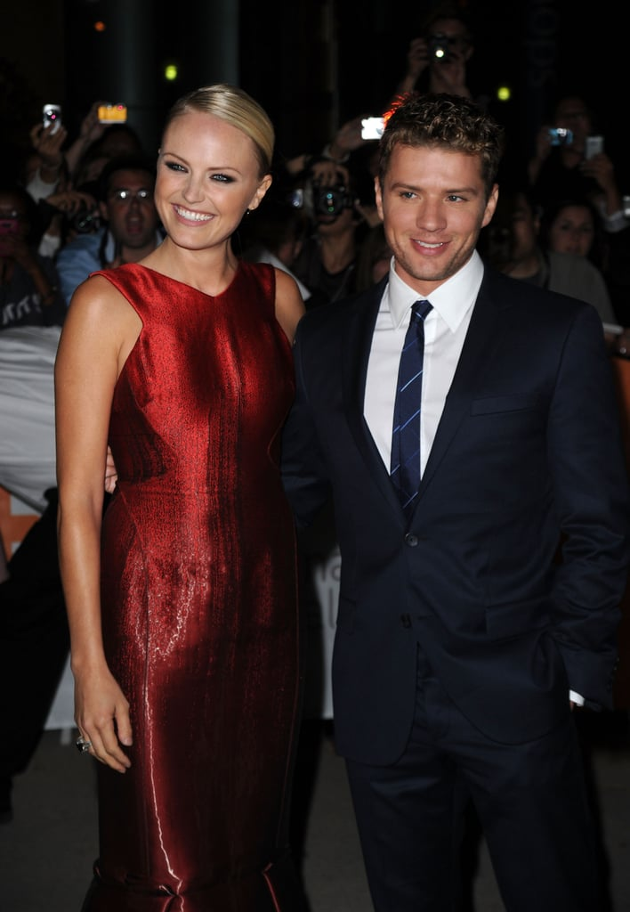 Co-stars Malin Akerman and Ryan Phillippe went all out for their 2010 Canadian debut of The Bang Bang Club.