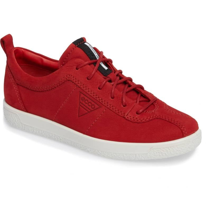 f53e6f01c5 Ecco Women's Soft 1 Sneaker | Best Red Sneakers 2017 | POPSUGAR ...