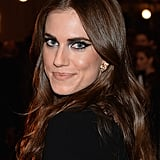 Slight waves, like Allison Williams's here, are a great addition to normally straight hair.