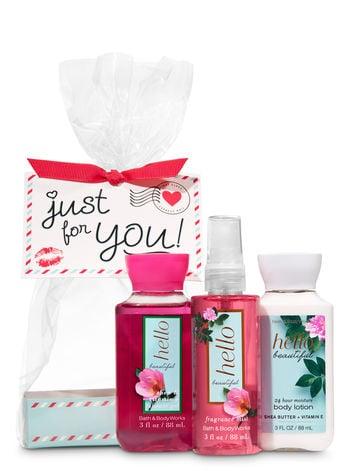 Bath u0026 Body Works Hello Beautiful Just for You Mini Gift Set  sc 1 st  Popsugar & Bath u0026 Body Works Hello Beautiful Just for You Mini Gift Set | Bath ...