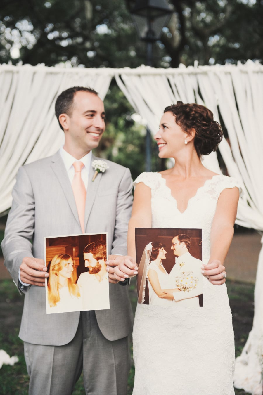 Holding Parents' Photos