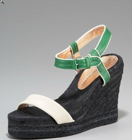 We'd wear these refreshing colorblocked espadrilles with shorts, Summer dresses, and everything in between.  MARC by Marc Jacobs Colorblock Espadrille ($195)